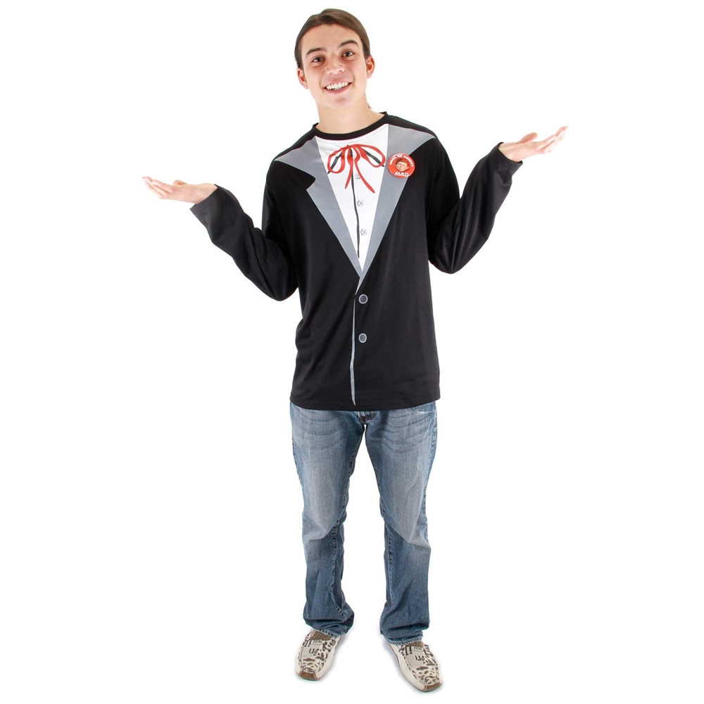 Alfred E. Neuman Adult Mens Costume