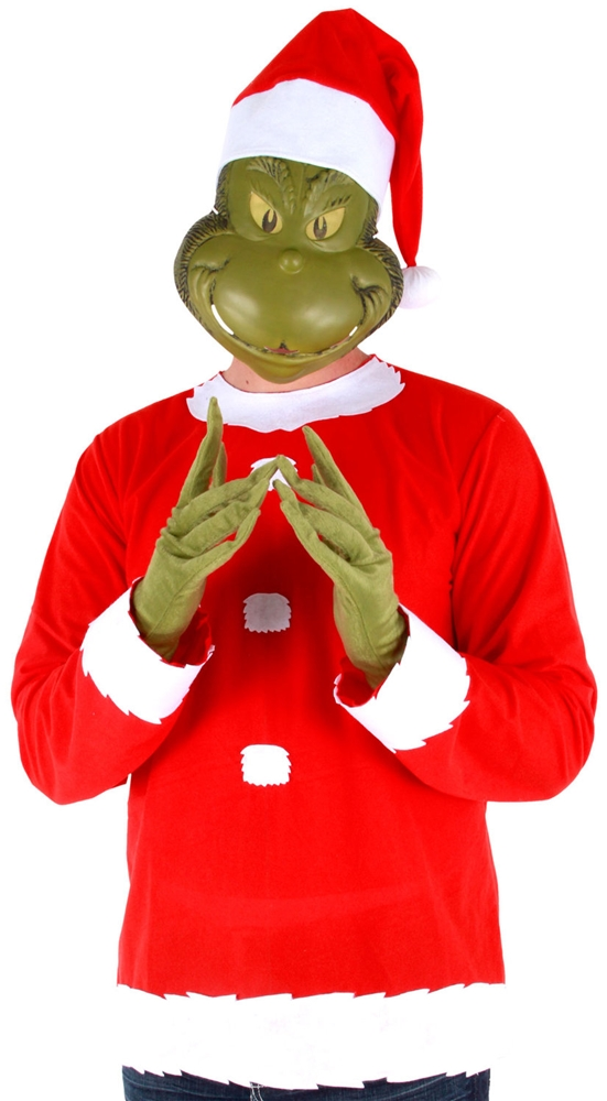 Dr. Seuss Grinch Adult Mens Costume