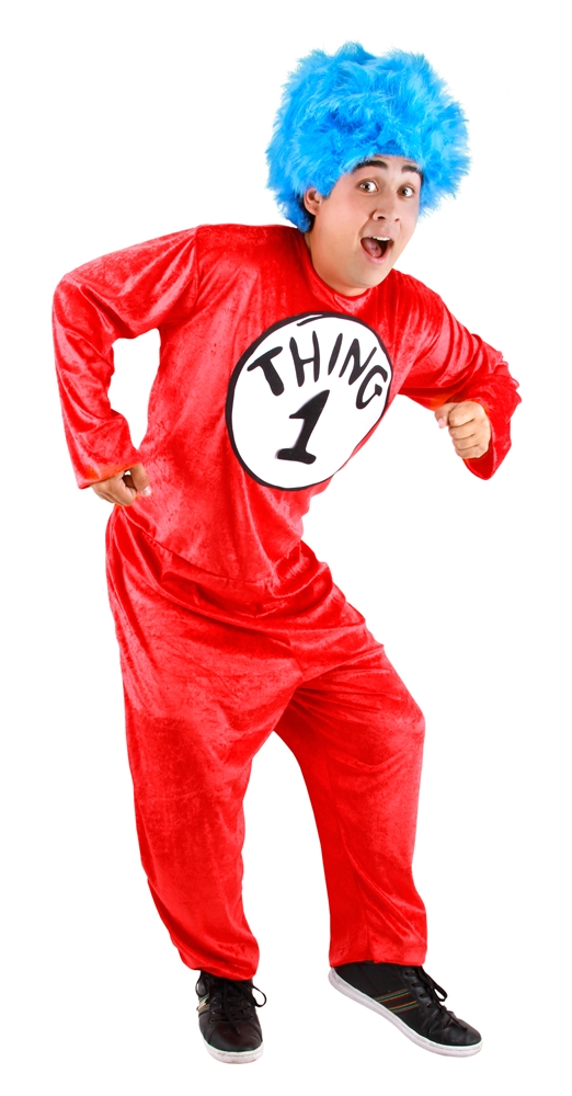 Dr. Seuss Thing 1&2 Classic Adult Unisex Costume