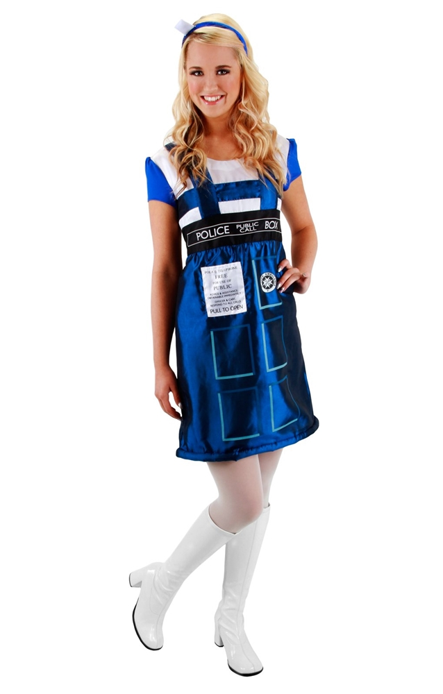 Doctor Who TARDIS Dress Womens Costume