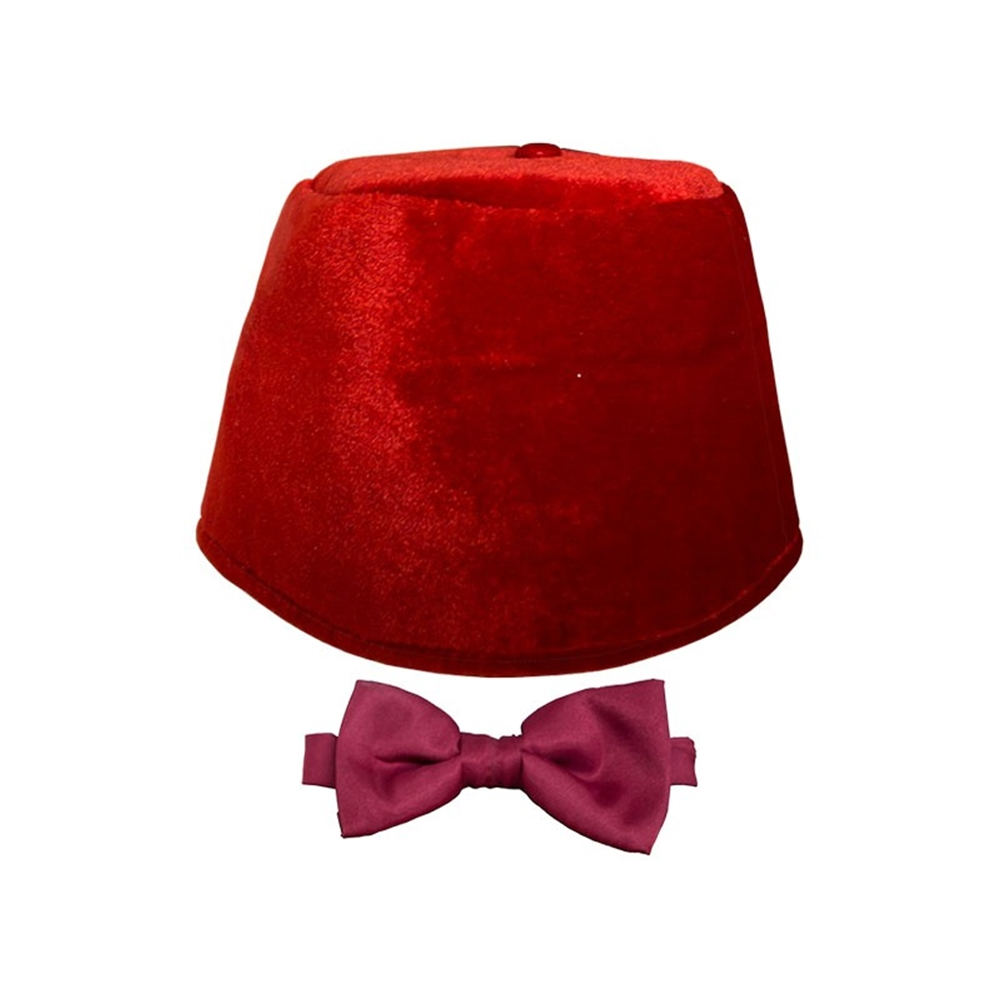 Doctor Who Fez & Bow Tie Kit