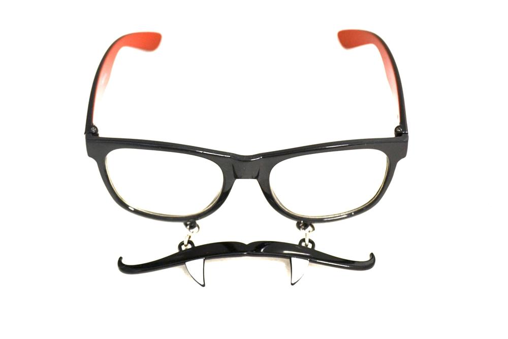 Image of Vampire Sun-Stache Sunglasses