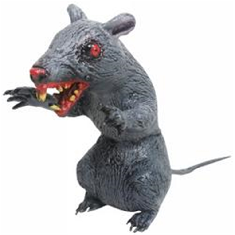 Scary Latex Sitting Rat by Sunstar Industries Inc.