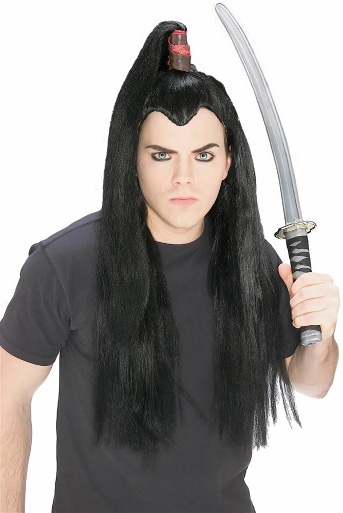 Samurai Adult Mens Wig