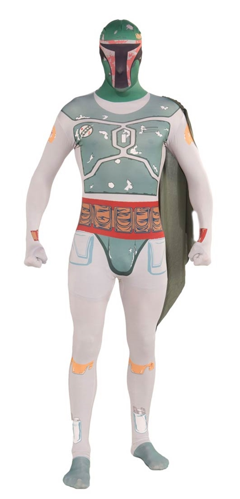 Star Wars Boba Fett Mens 2nd Skin Adult Costume