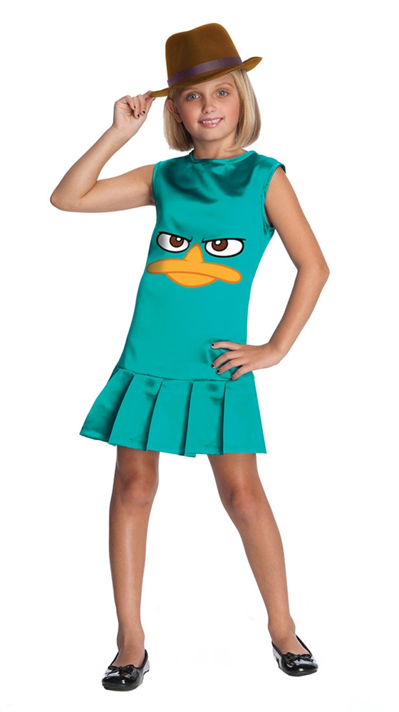 Phineas And Ferb Sassy Agent P Girls Costume