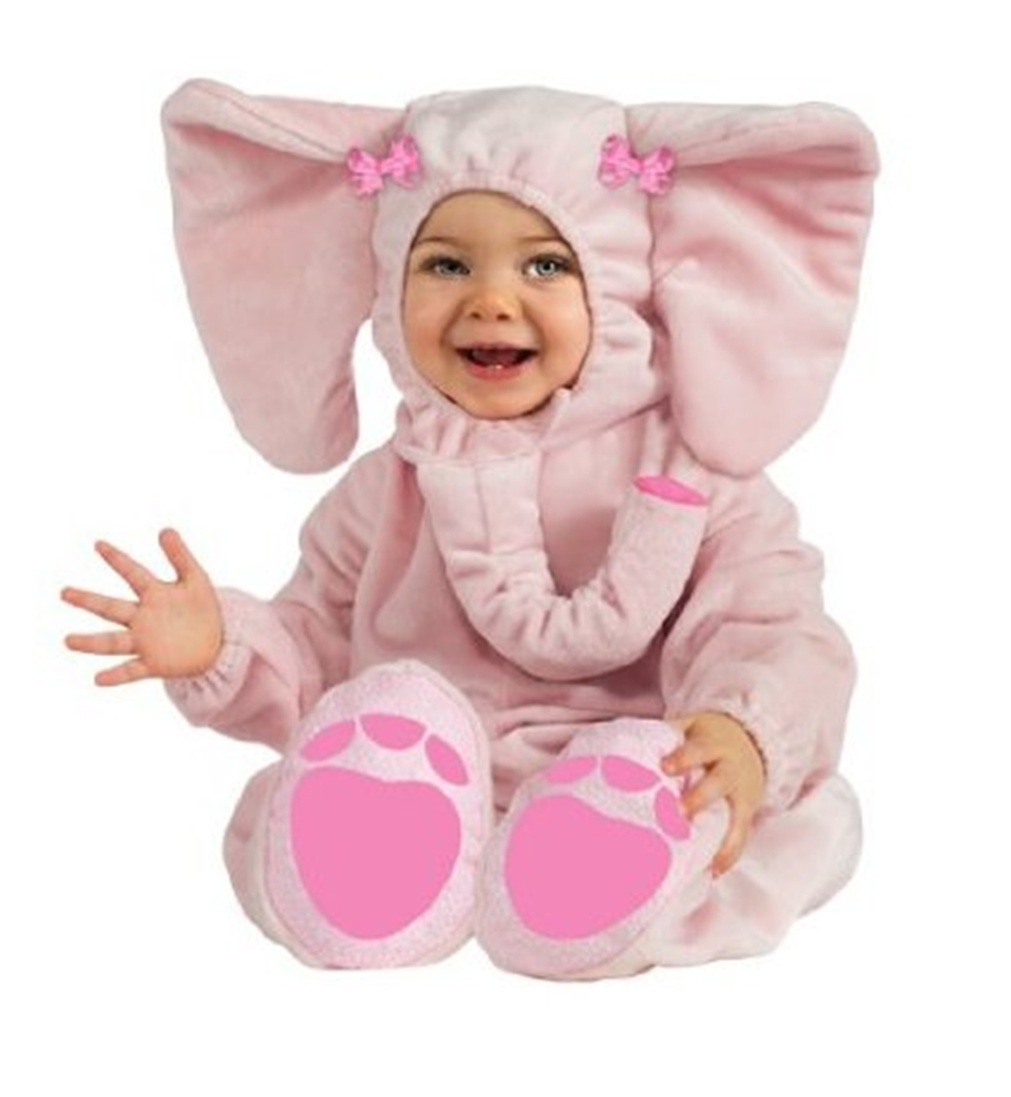 Ella Fun Pink Elephant Infant Costume