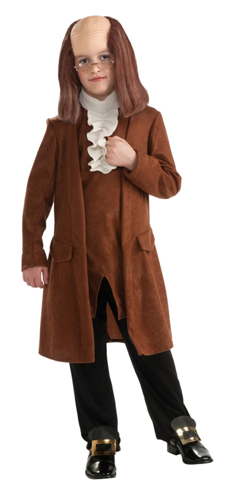 Купить Benjamin Franklin Child Costume