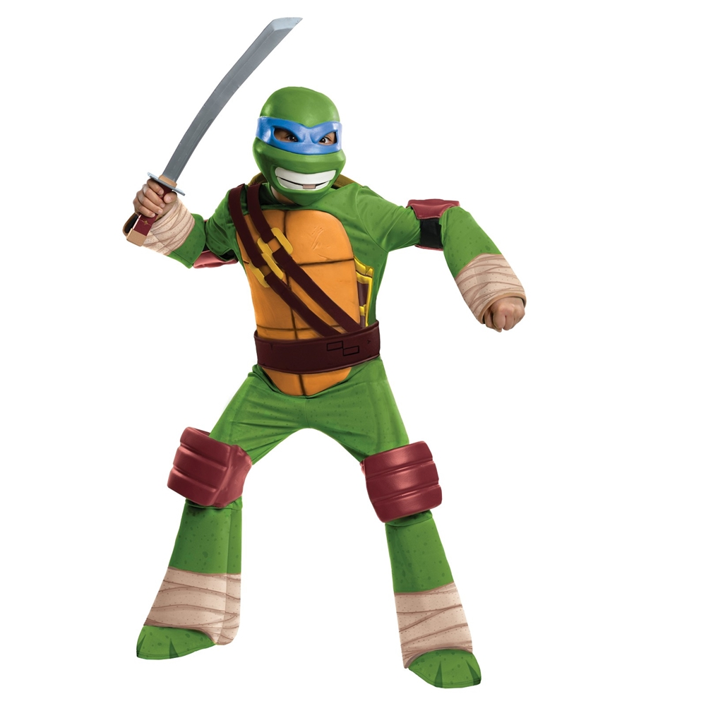 Teenage Mutant Ninja Turtles Deluxe Leonardo Child Costume 886760
