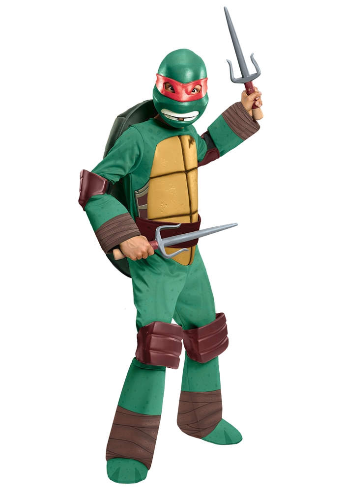 Teenage Mutant Ninja Turtles Deluxe Raphael Child Costume