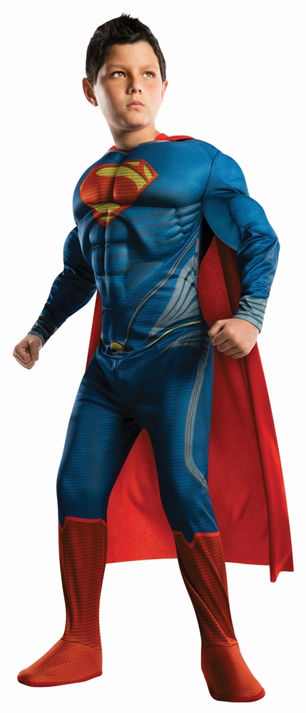 Superman Man of Steel Deluxe Muscle Child Costume