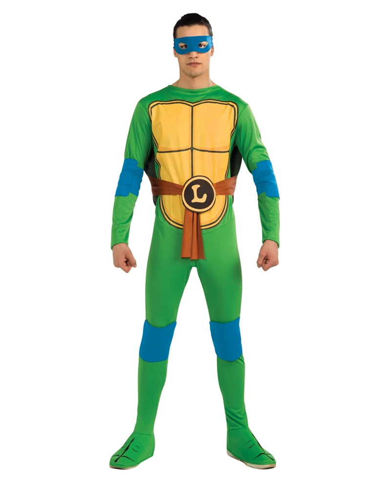 Teenage Mutant Ninja Turtle Leonardo Adult Mens Costume