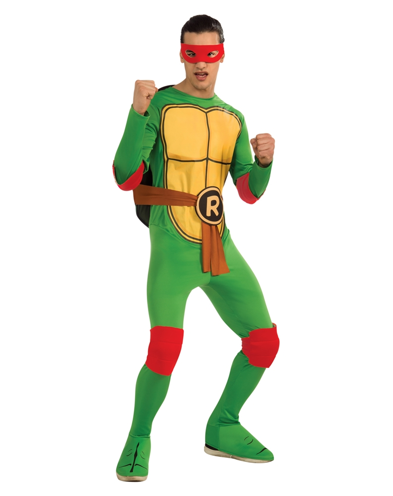 Teenage Mutant Ninja Turtles Raphael Adult Mens Costume 887250