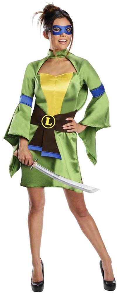 TMNT Geisha Leonardo Adult Womens Costume