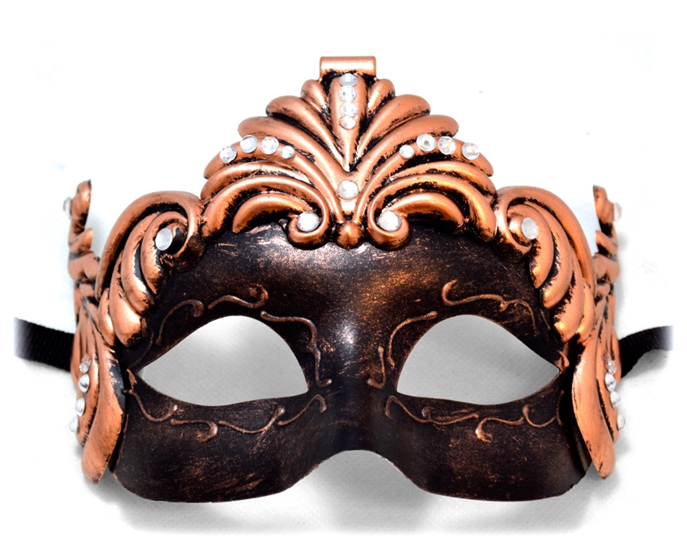 Rustic Mask with Jewels
