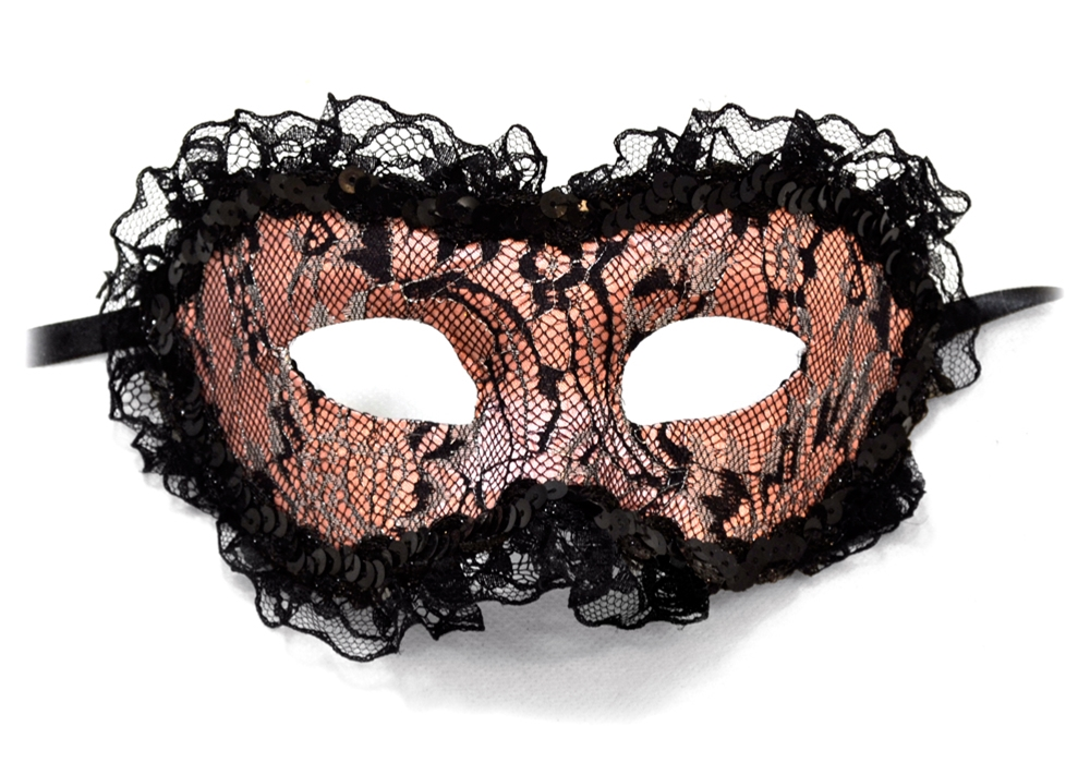 Playful Lace Mask by Bauer Pacific Imports