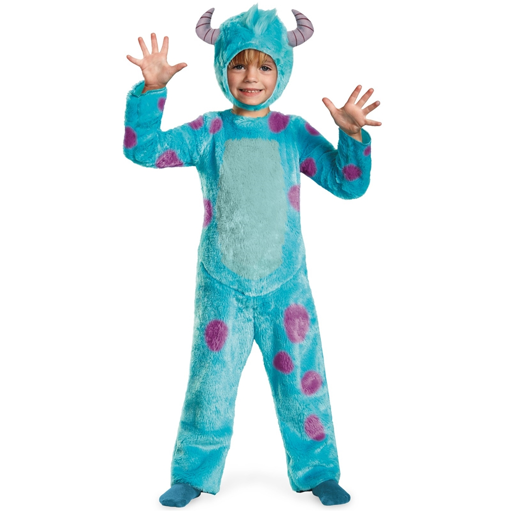Monsters University Deluxe Sulley Toddler Costume