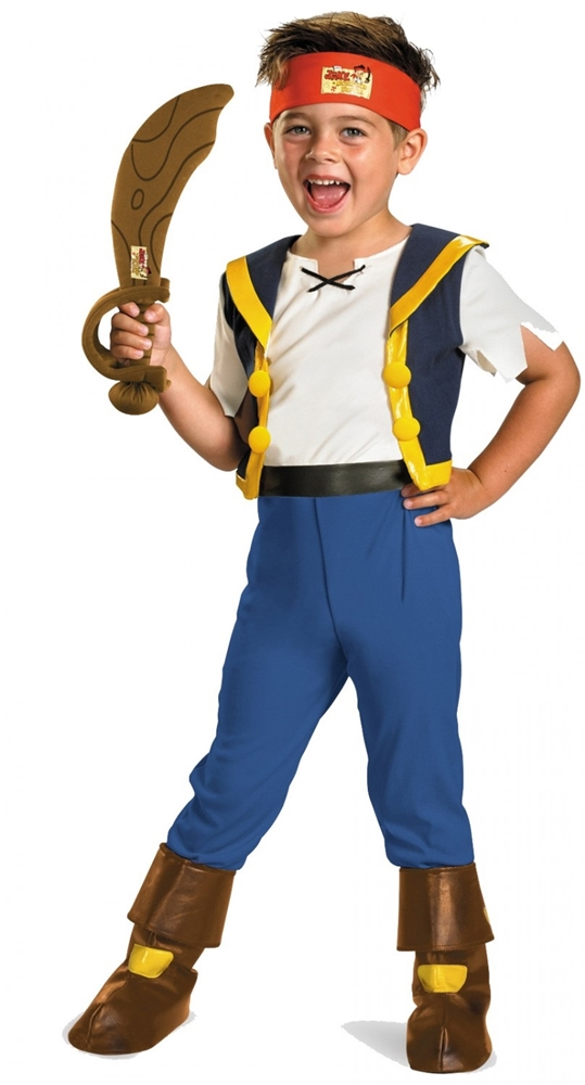 Jake Deluxe Toddler & Child Costume