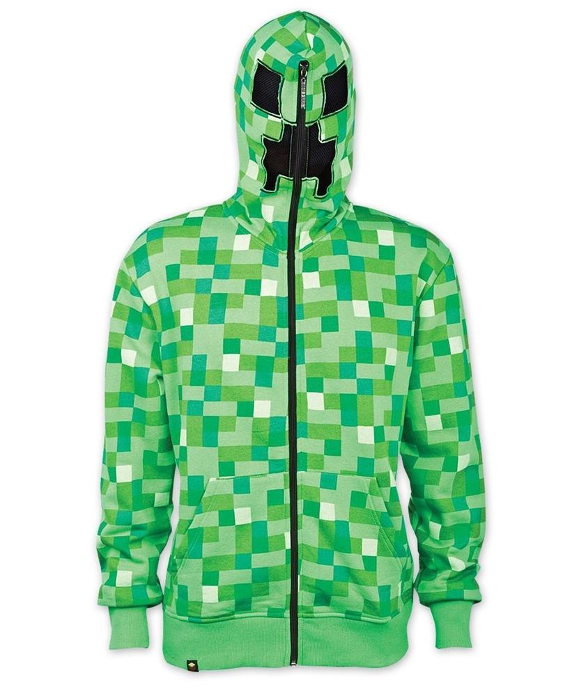 Minecraft Creeper Adult Unisex Hoodie