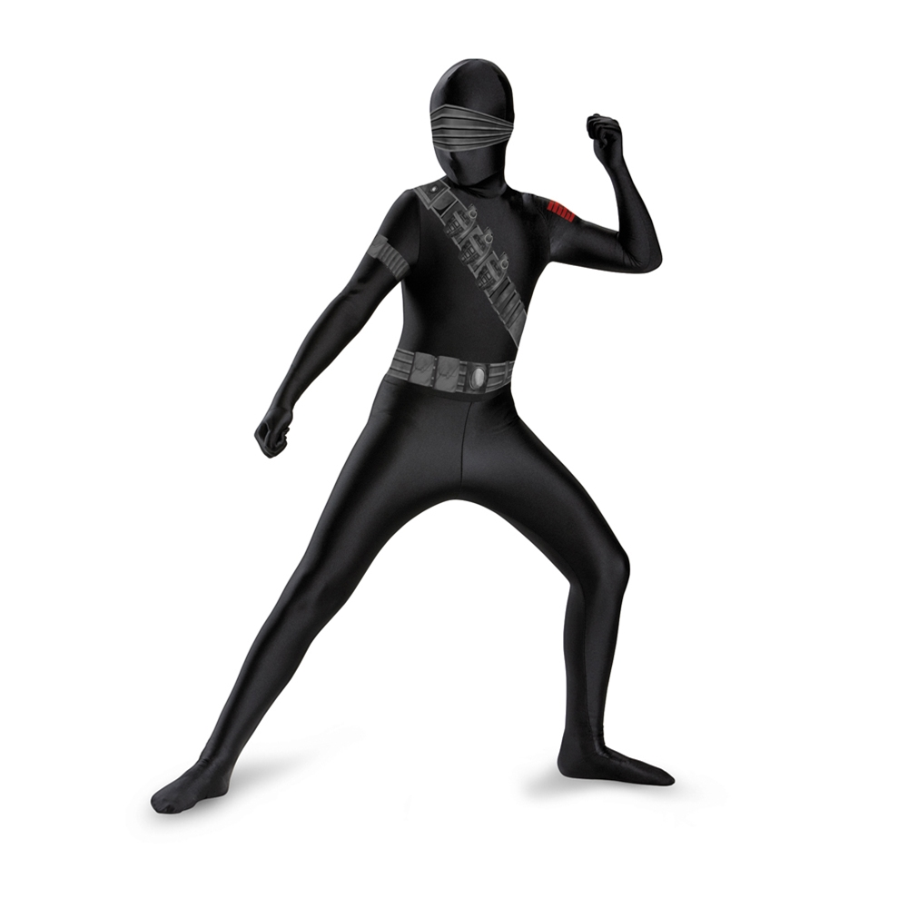 G.I. Joe Snake Eyes Bodysuit Child Costume