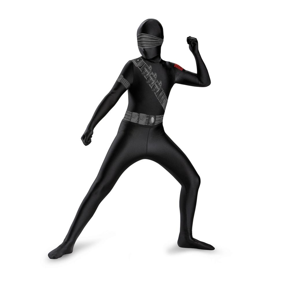 G.I. Joe Snake Eyes Bodysuit Child Costume
