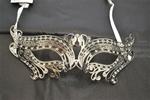 Silver-Metal-Venetian-With-Faux-Diamonds-Mask