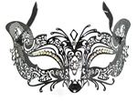 Metal-Venetian-Mask-Black