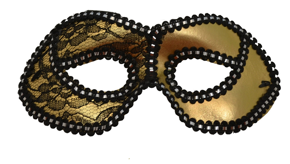 Gold Wear Party Mask
