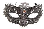 Gray-Venetian-Lace-Mask