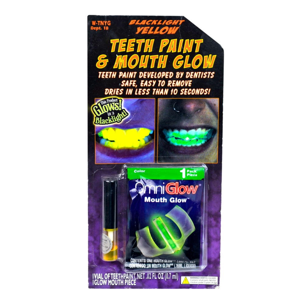 Black Light Teeth Paint by West Coast Closeouts