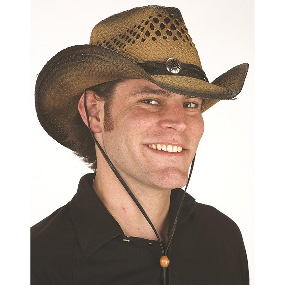 Straw Toyo Western Hat