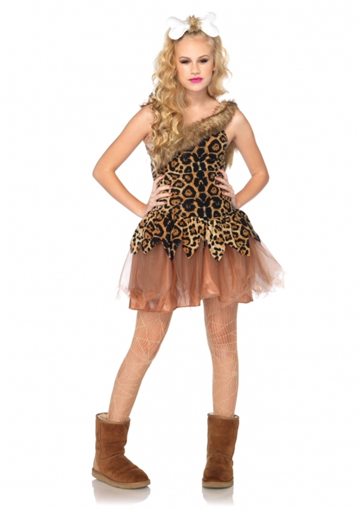 Cave Girl Cutie Juniors Costume