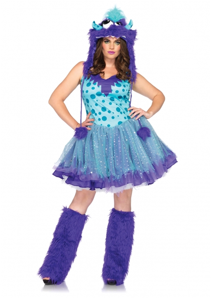 Polka Dotty Adult Womens Plus Size Costume HALLOWEEN Cute Fun