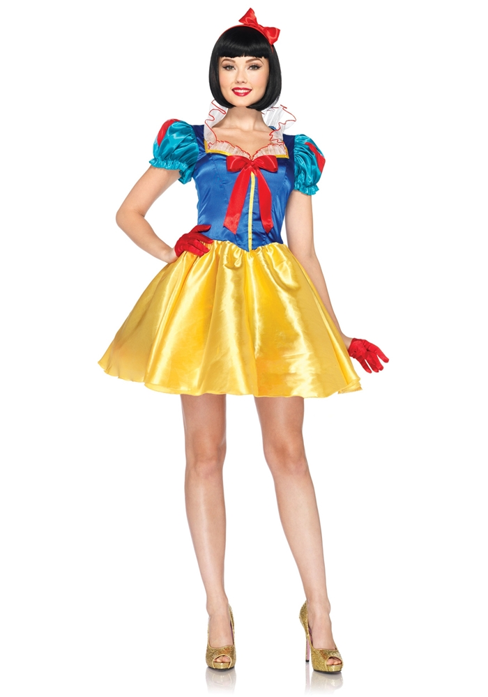 Classic Snow White Adult Womens Costume 2pc