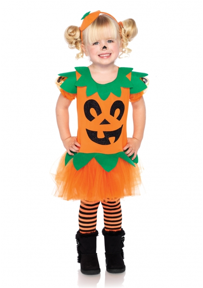 Pretty Pumpkin Dress Child Costume