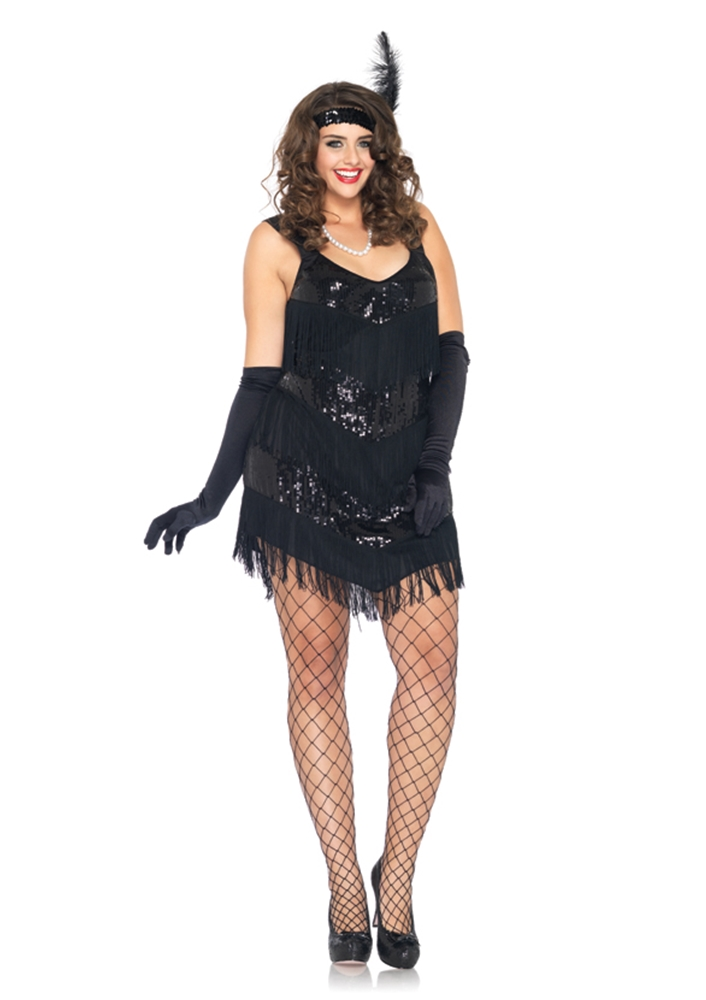 Roaring 20's Honey Adult Womens Plus Size Costume