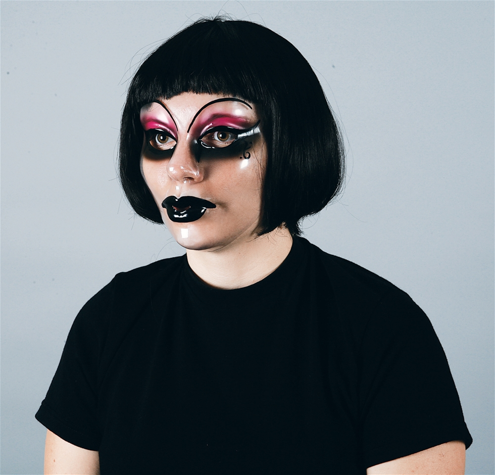 Goth Face Adult Mask
