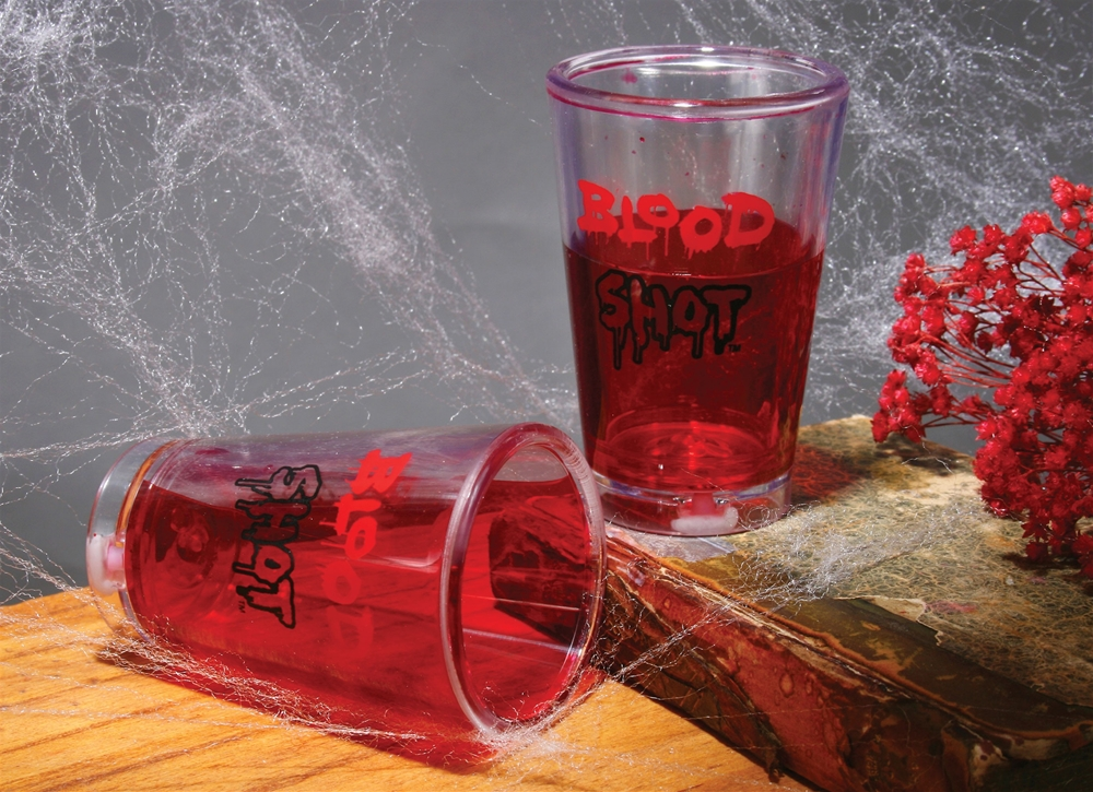 Blood Shot Glasses