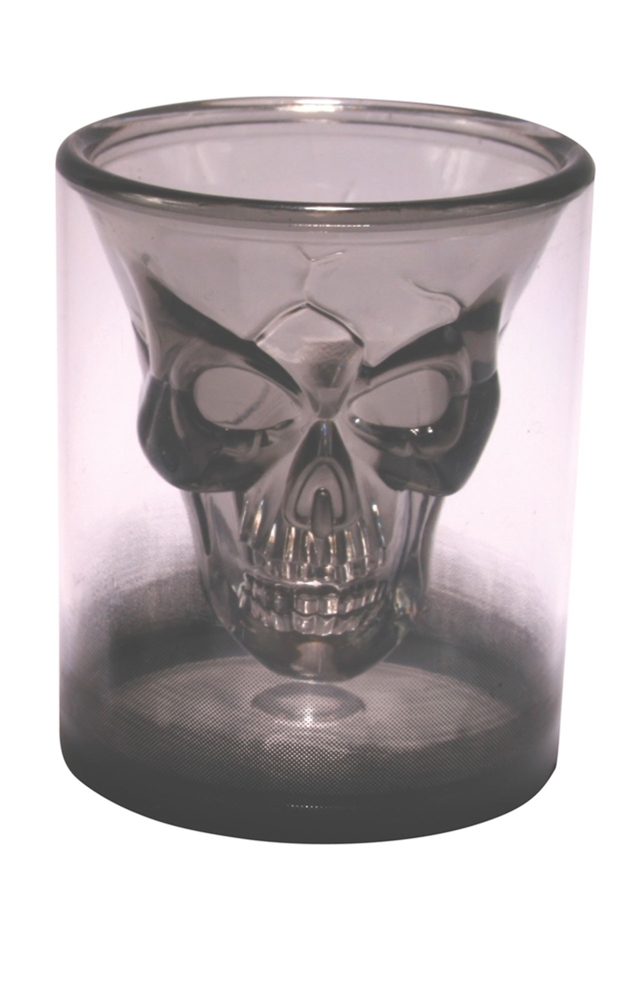 Floating Skull Shot Glass
