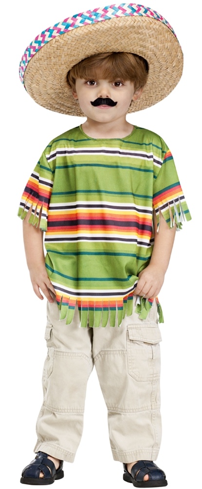 Image of Little Mexican Amigo Toddler Costume