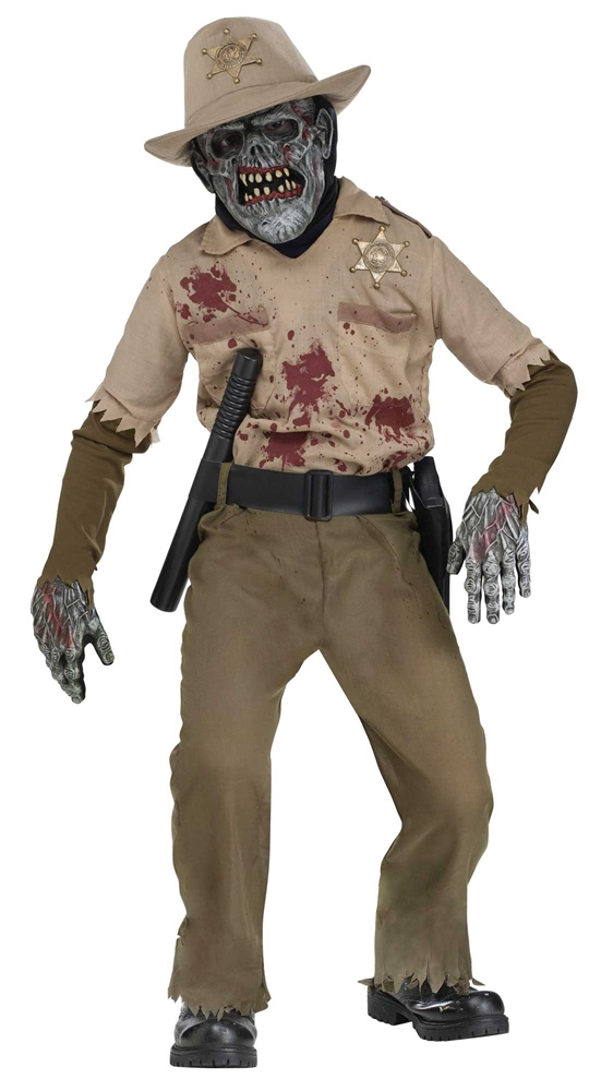 Zombie Sheriff Child Costume