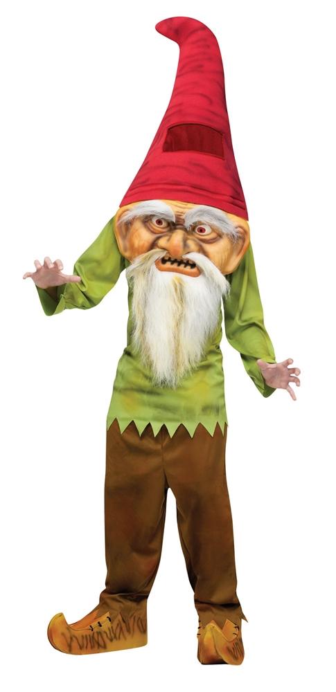 Big Head Evil Gnome Child Costume