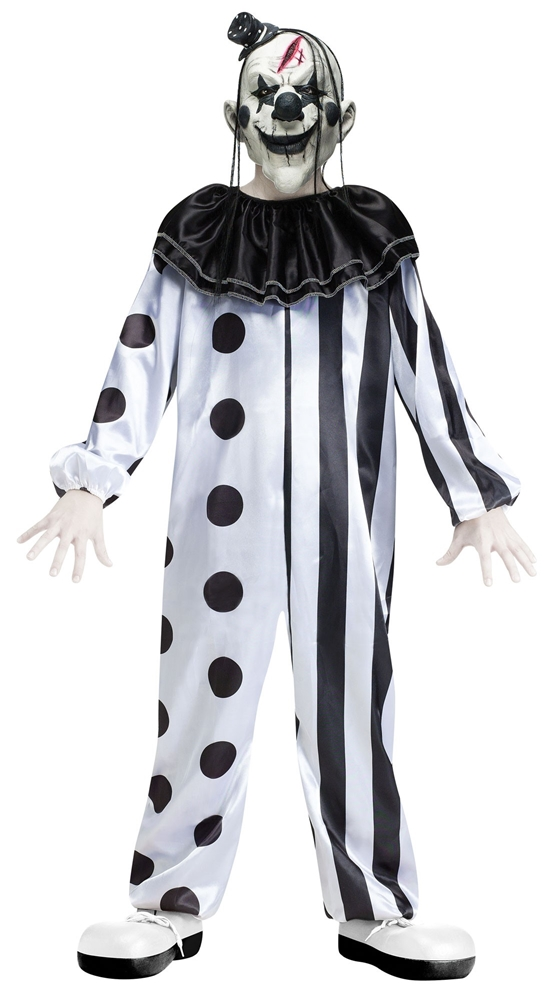 [Killer Clown Child Costume] (Childs Clown Costumes)