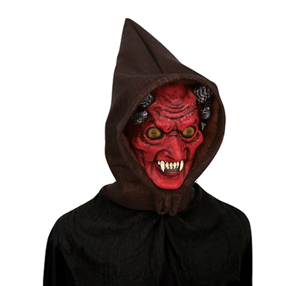 Adults Hologram Hoodie Devil Mask