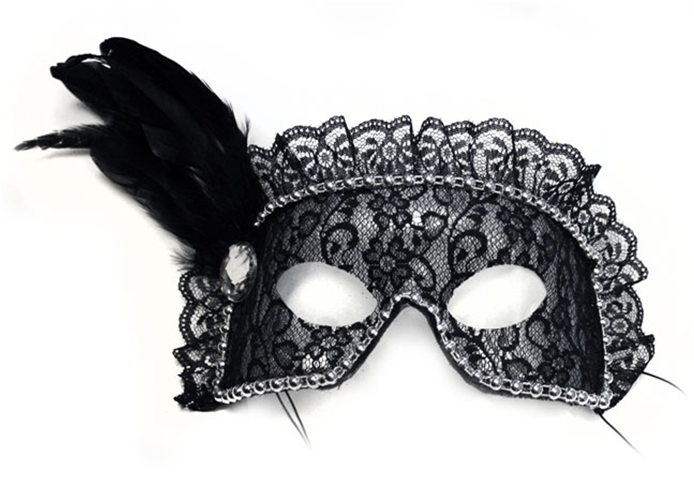 Naughty Bandito Adult Lace Mask by Hees Designs Int.