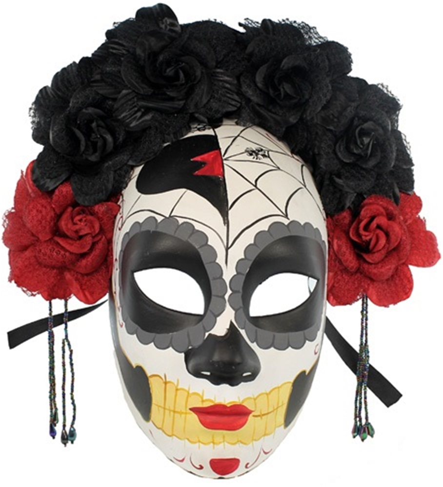 La Catrina Day of The Dead Mask