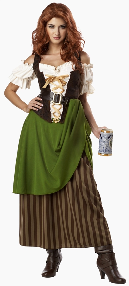Tavern Maiden Adult Womens Costume