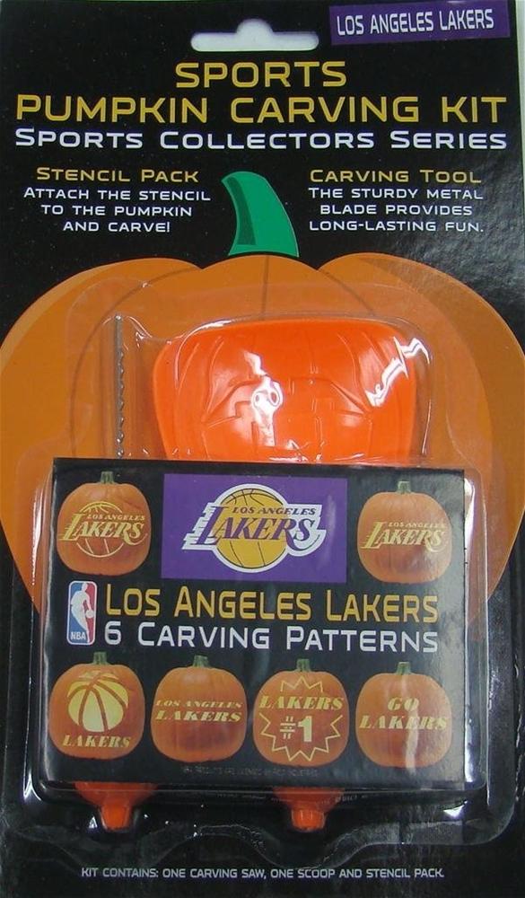 NBA Los Angeles Lakers Pumpkin Carving Kit