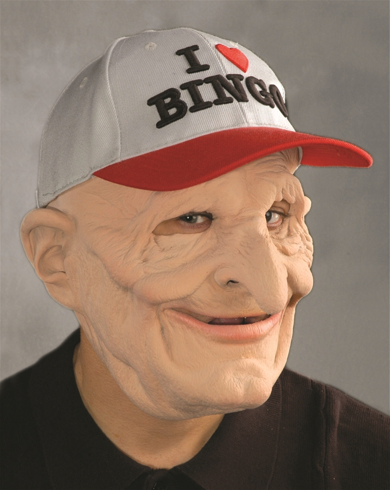 B-9 Bingo Old Man Mask by Zagone Studios