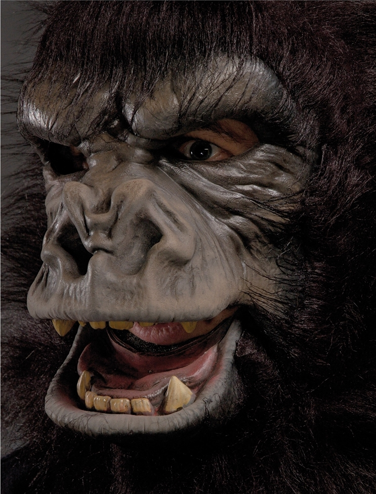 Two Bit Roar Gorilla Adult Mask